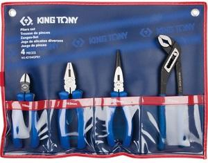 Trousse de 4 pinces Kingtony