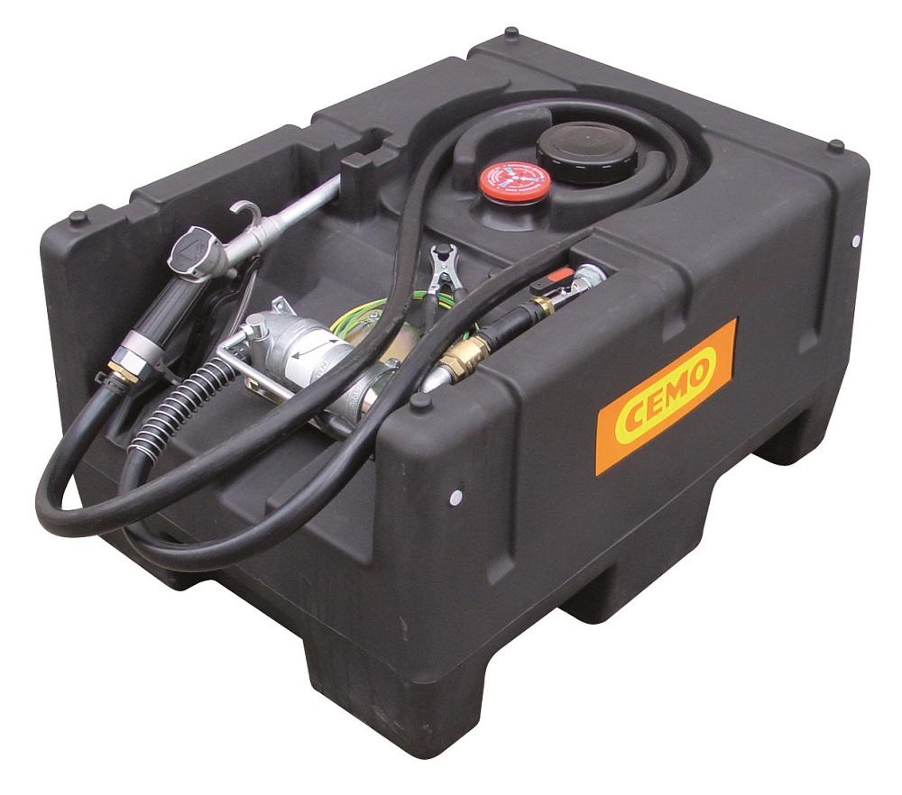 Cuve à essence transportable avec pompe