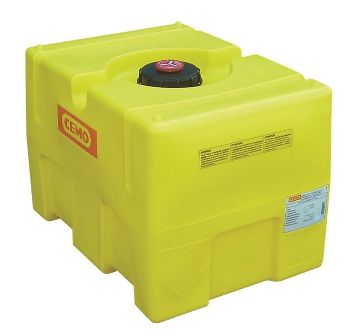 Petite cuve de 200 litres pour transporter de l'eau