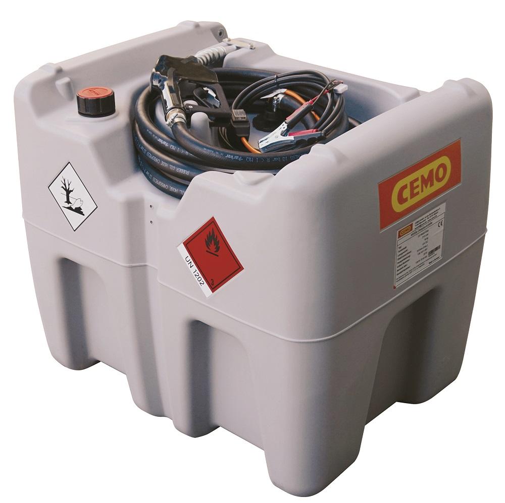 Cuve de transport gasoil 200 litres avec pompe