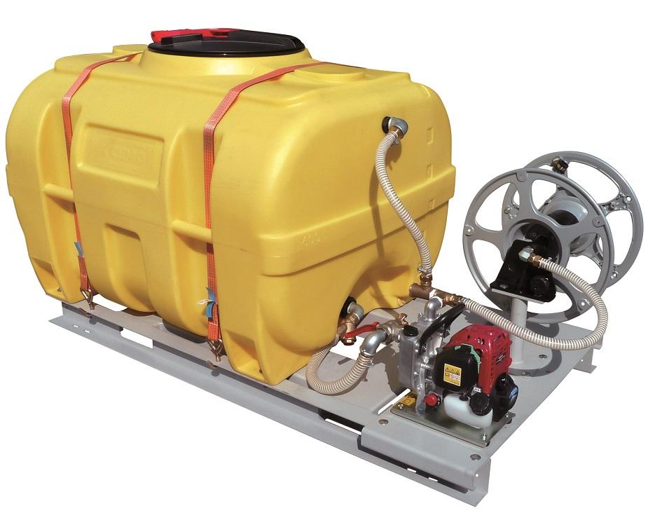 Cuve à eau avec motopompe essence Honda