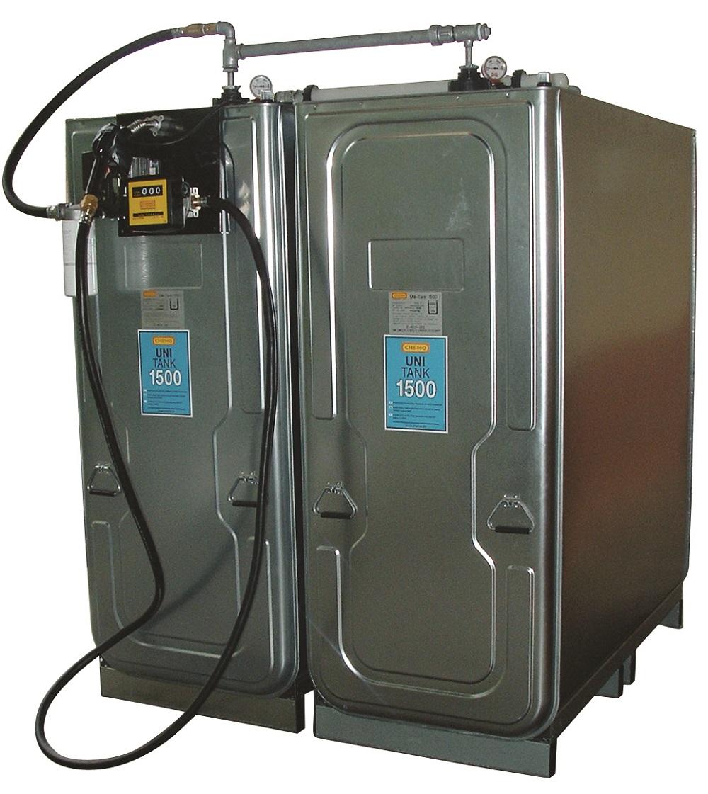 Cuve gasoil 1500 litres en batterie