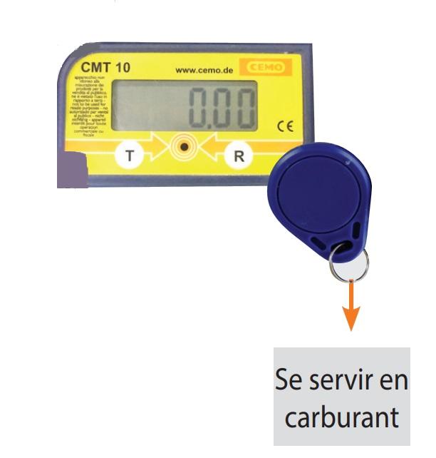 Compteur Adblue avec badge pour sécuriser la pompe