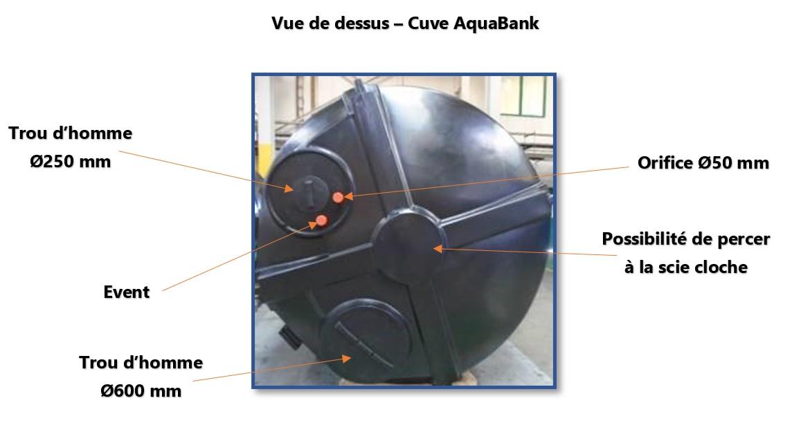 Les cuves à eau de 20000 litres au meilleur prix
