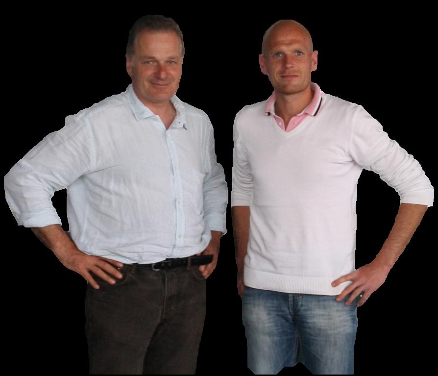 Emmanuel Lardé et Thomas Racine : RL DISTRIB