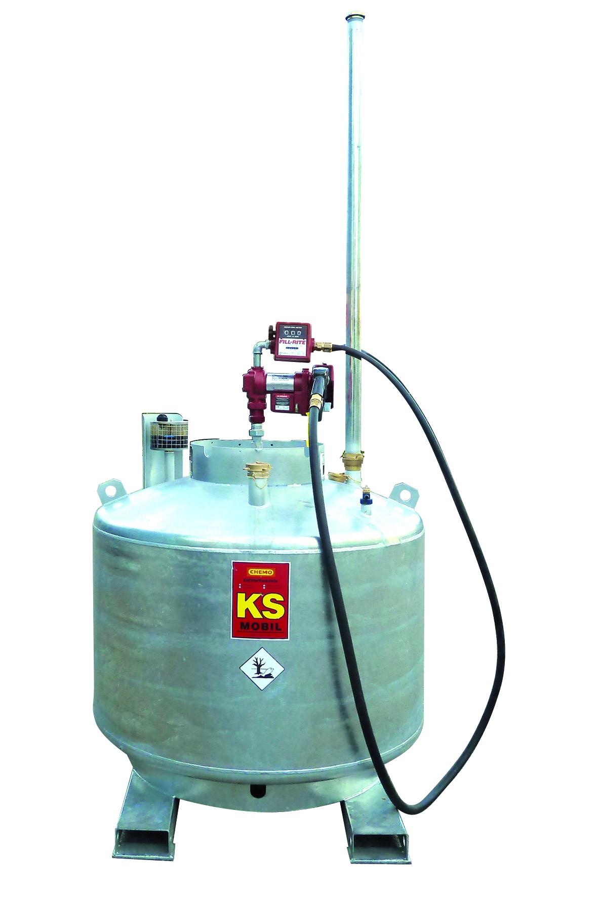 Cuve essence avec pompe Atex