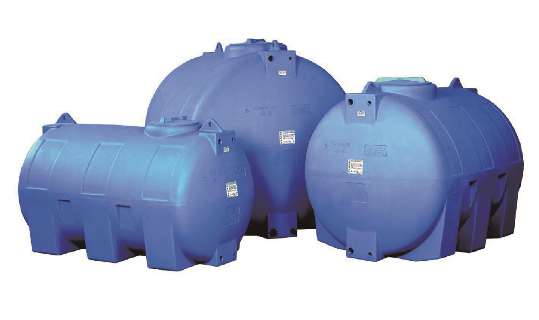 Cuve à eau cylindrique de 2000 litres